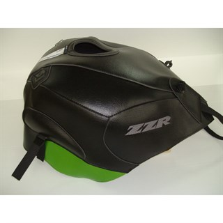 Bagster tank cover ZZR 1400 - black / pearly green