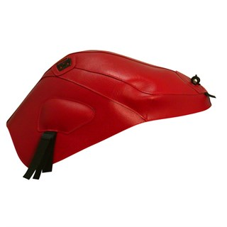 Bagster tank cover 675 DAYTONA / STREET TRIPLE - red