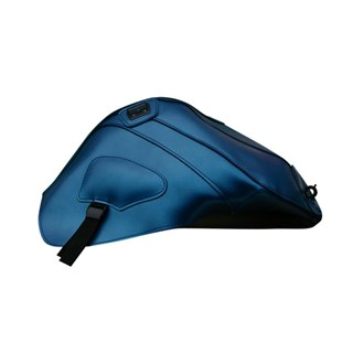 Bagster Tank cover 675 DAYTONA / STREET TRIPLE - pearly blue