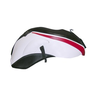 Bagster tank cover FZ1 N FAZER - black / white / red