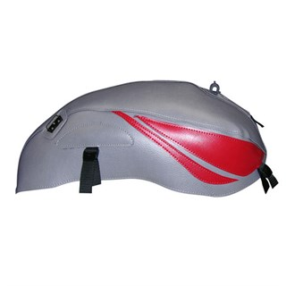 Bagster Tank cover CB 600 HORNET - steel grey / dark red