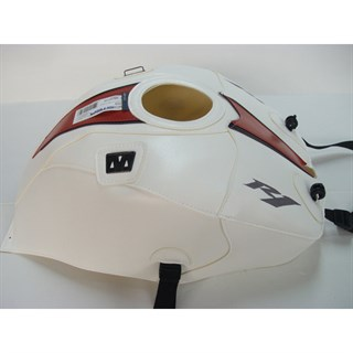 Bagster Tank cover YZF R1 - white / red / black