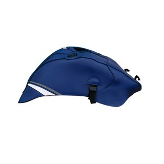 Bagster Tank cover YZF R1 - baltic blue / white / steel grey