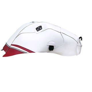 Bagster Tank cover YZF R1 - white / red / steel grey