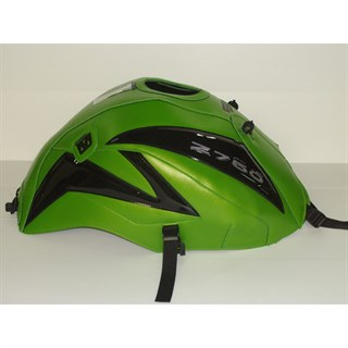 Bagster Tank cover Z 750 - pearly green / shining black / limited edition