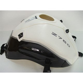 Bagster Tank cover Z 750 - white / shining black / limited edition