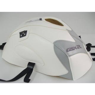 Bagster Tank cover GSX 600R / GSX 750R - white / light grey