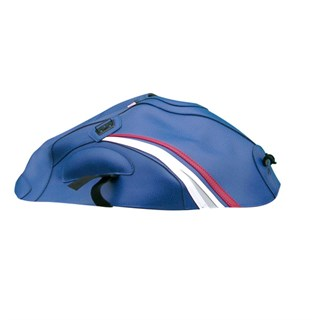 Bagster Tank cover GSX 650F - blue / red / white / light grey