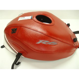 Bagster Tank cover YZF R6 - red / white