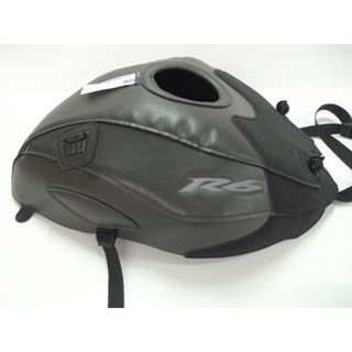 Bagster Tank cover YZF R6 - sky grey / matt black