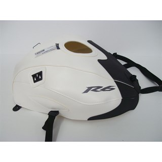 Bagster Tank cover YZF R6 - white / matt black