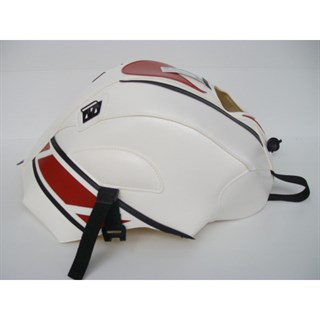 Bagster Tank cover YZF 125 R - white / red / black / anniversary edition