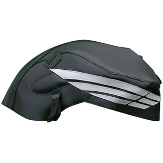 Bagster Tank cover CBF 600N (unfaired) - black / grey