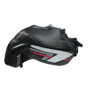 Bagster Tank cover CBF 600N (unfaired) - black / steel grey / red