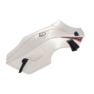 Bagster Tank cover XTZ 660 TENERE - white / black and red deco