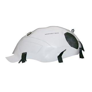 Bagster Tank cover MONSTER 696 / 796 / 1100 - white