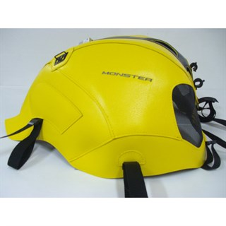Bagster Tank cover MONSTER 696 / 796 / 1100 - surf yellow / black