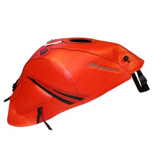 Bagster Tank cover GSX 1300R HAYABUSA - pearly vermillion / dark red / black