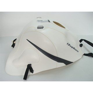 Bagster Tank cover GSX 1300R HAYABUSA - white/anthracite