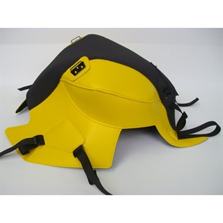 Bagster Tank cover F800 R - matt black / surf yellow