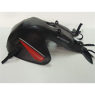Bagster Tank cover YBR 125 - black / red deco