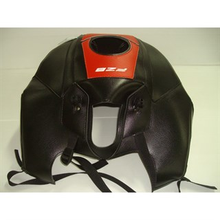 Bagster Tank cover FZ 8 - black / red carbon