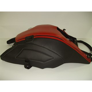 Bagster Tank cover DIAVEL - carbon / red stripe