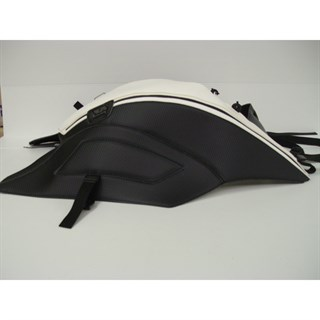 Bagster Tank cover DIAVEL - carbon / white stripe