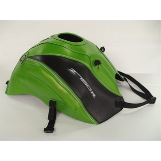 Bagster Tank cover Z 750R - pearly green / black deco / silver piping