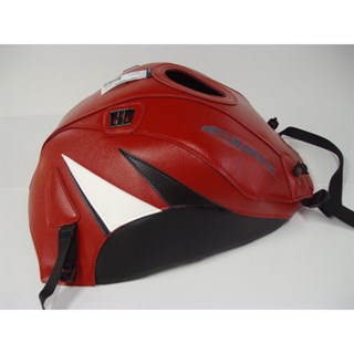 Bagster Tank cover CBR 1000RR - red / black / white triangle