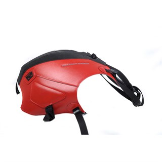 Bagster Tank cover CAPONORD 1200 - matt black / red