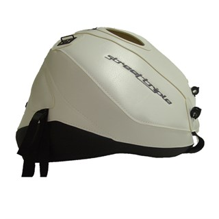Bagster Tank cover STREET TRIPLE 675 R - white