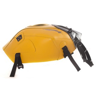 Bagster Tank cover RS4 125 - saffron yellow / black