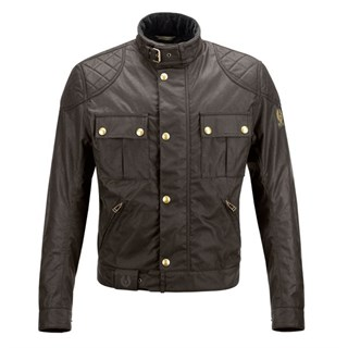 Belstaff Mojave wax cotton jacket in mahogany