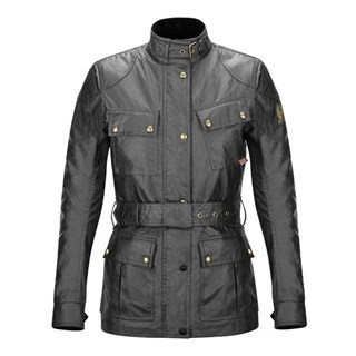 Belstaff Trialmaster wax cotton ladies jacket in black