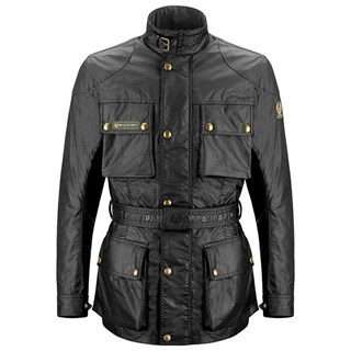 Belstaff Trialmaster 6oz Black jacket 4XL