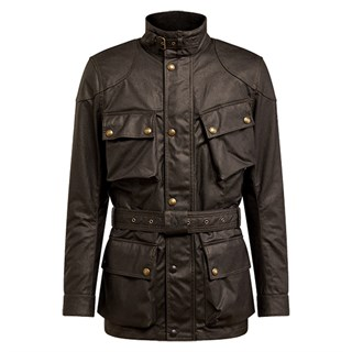 Belstaff Trialmaster Pro wax cotton jacket in mahogany M