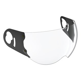 Roof Boxer visor in clear