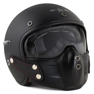 Harisson Corsair helmet - matte black M