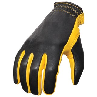 McQueen ISDT gloves in yellow