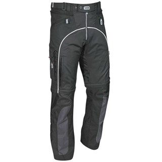 Halvarssons Lizard trousers in black