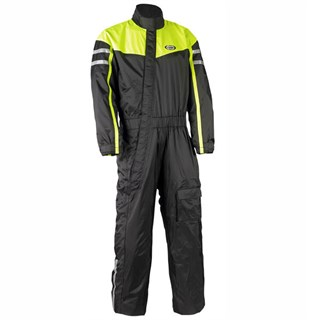 Halvarssons Rain Suit black/black/yellow m