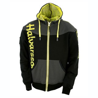 Halvarssons Biggin Hoodie - Black/Yellow