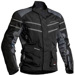 Halvarssons Luxor jacket in black/grey