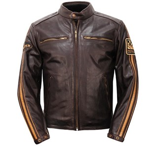 Helstons Ace jacket in brown