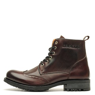 Helstons Cardinal Boots in burgundy 43