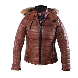 Helstons Light ladies jacket in camel