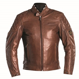 Helstons Scoty Leather jacket in brown XL