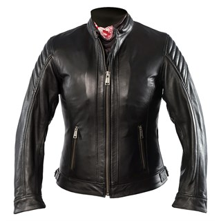 Helstons ladies Star jacket in black