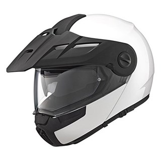Schuberth E1 helmet - Gloss White 2XL 63